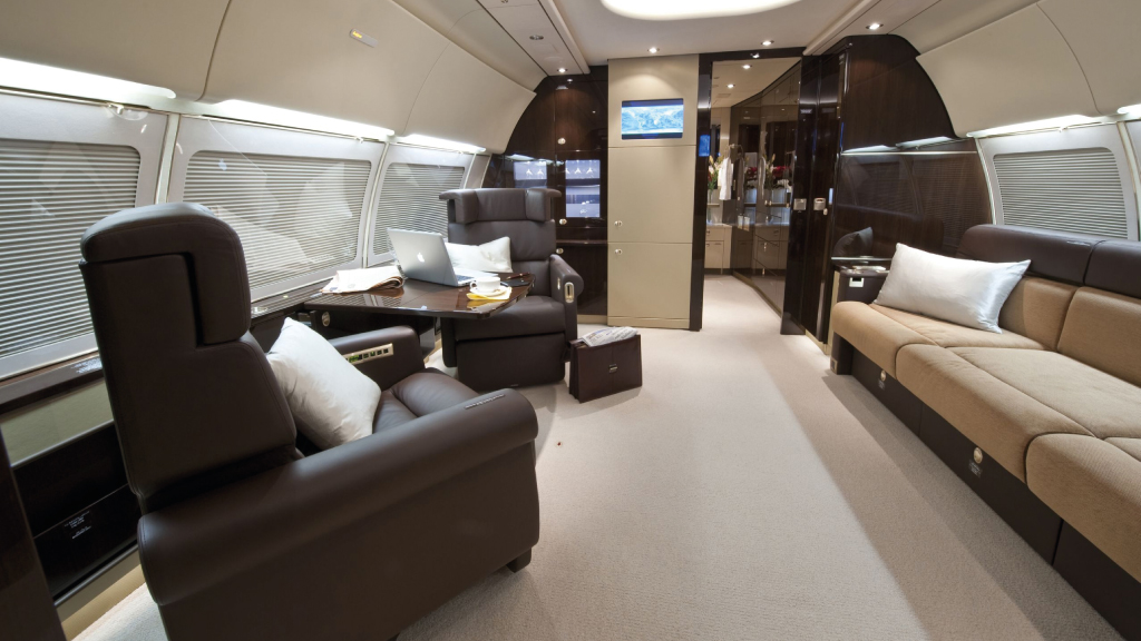 CONDUCT BUSINESS IN THE AIR