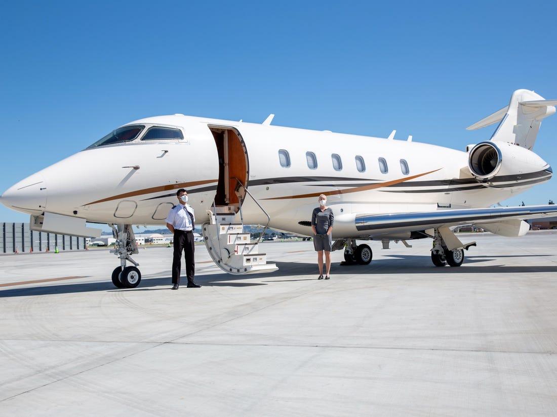 private jet tours